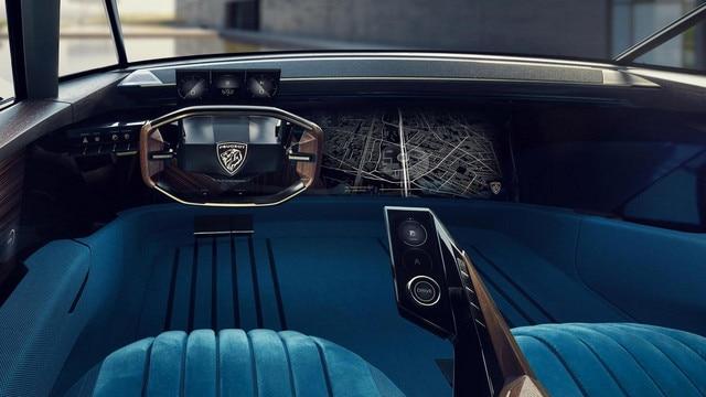 PEUGEOT e-LEGEND Autonomous Concept Car