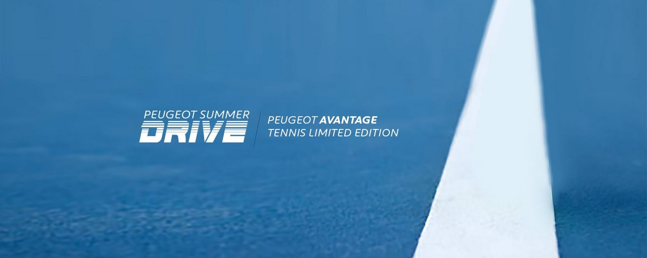 PEUGEOT Summer Drive Avantage Tennis Limited Edition