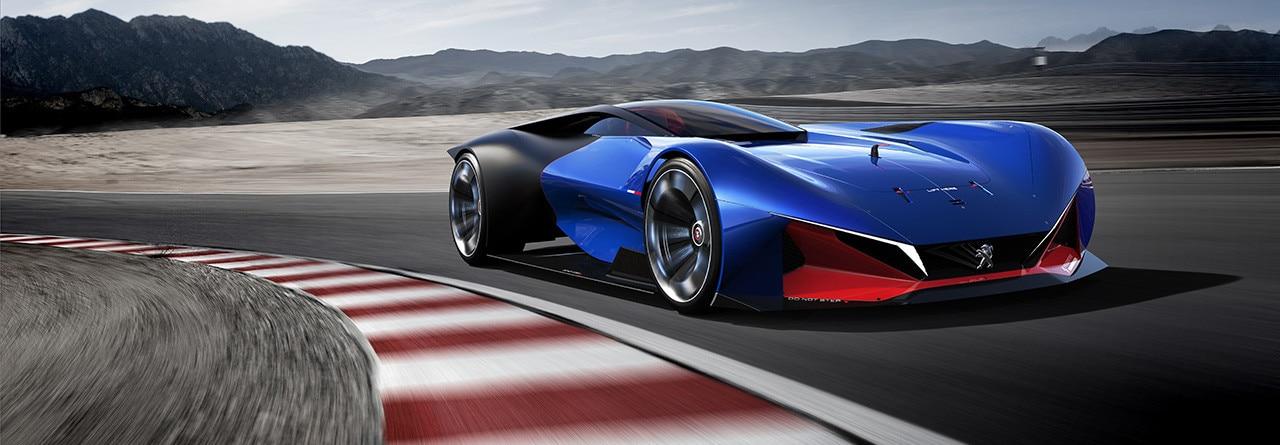 PEUGEOT L500 R HYbrid Concept Car | Future car technology