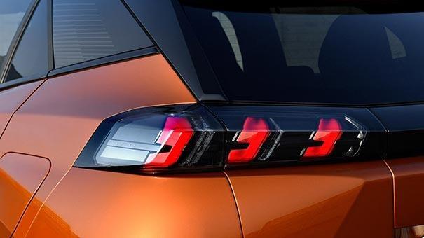 All-New PEUGEOT 2008 SUV Design | Rear Lights