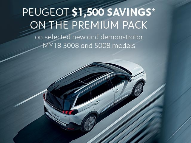 PEUGEOT Premium Pack Savings Offer