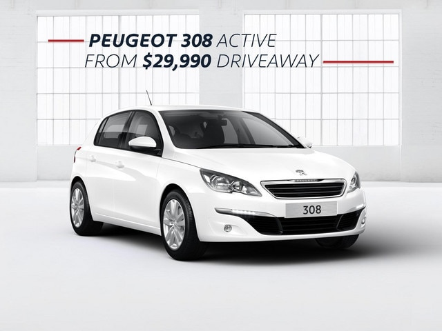 PEUGEOT 308 Active from $29,990