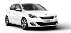 PEUGEOT 308 5 door hatch
