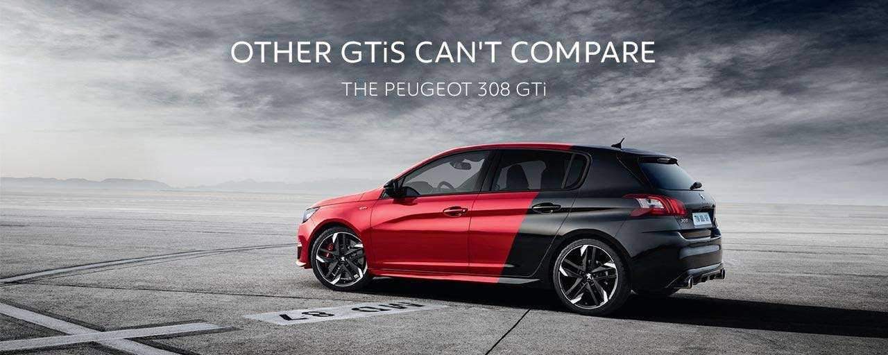 PEUGEOT 308 GTi Hot Hatch