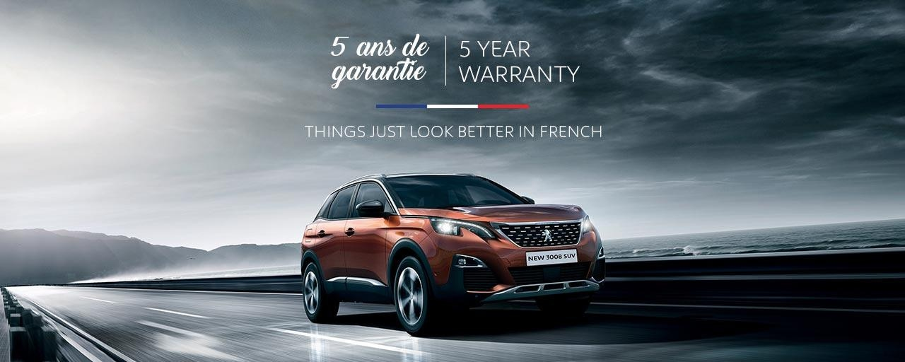 PEUGEOT SUV Range | Things Just Look Better In French