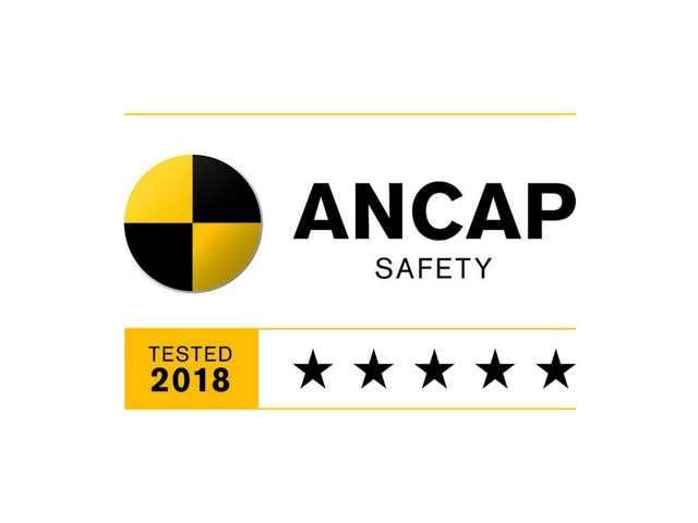 5-Star ANCAP Safety Rating