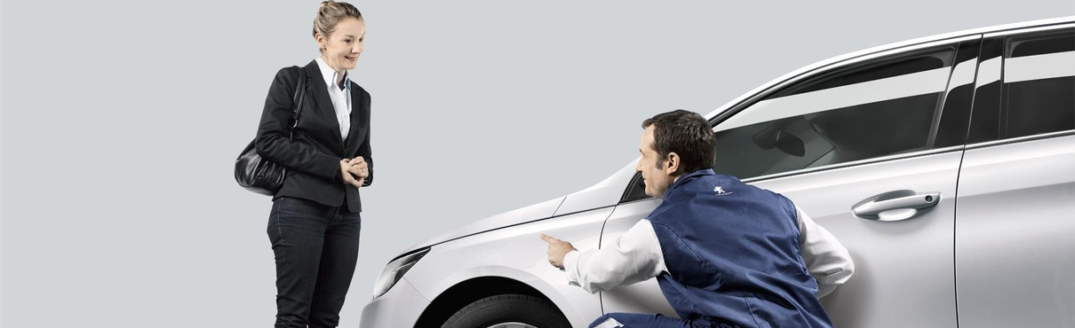 PEUGEOT preferred panel repairers