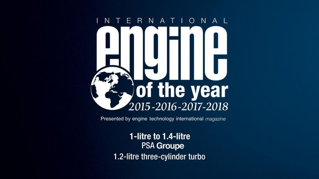 PEUGEOT Awarded International Engine of the Year 2018