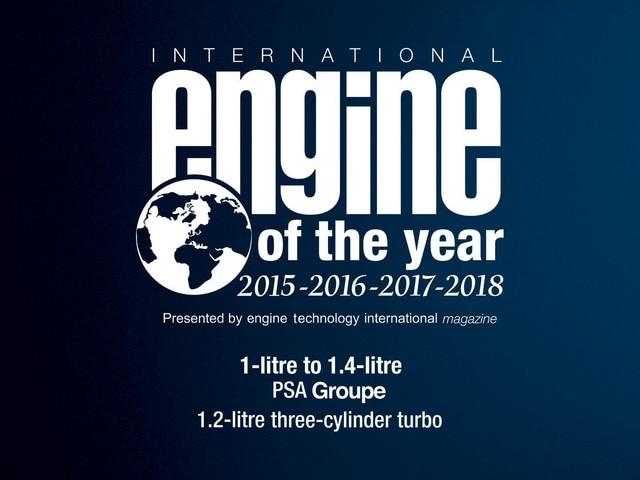 PEUGEOT Awarded International Engine of the Year 2018