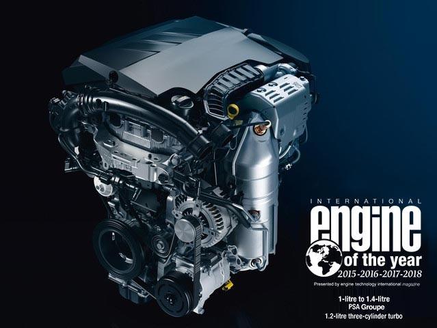 PEUGEOT 308 PureTech International Engine of the Year 2018