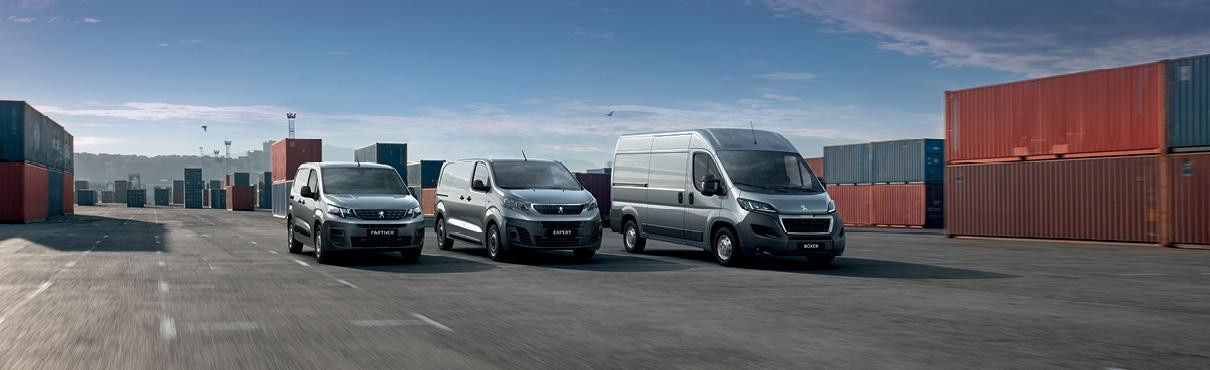 All-New PEUGEOT Professional Range