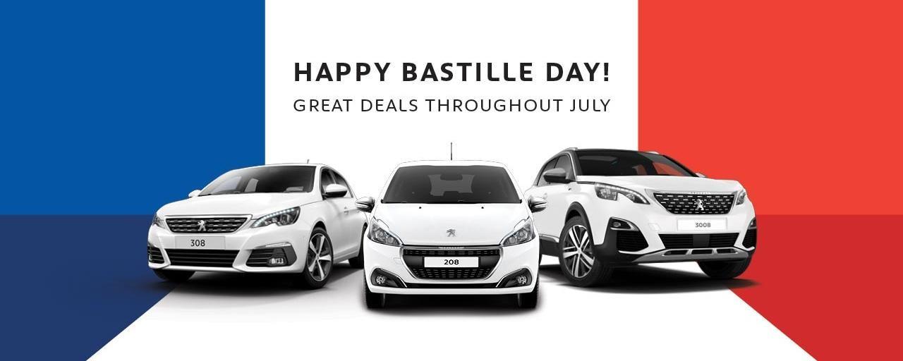 PEUGEOT Bastille Day Deals