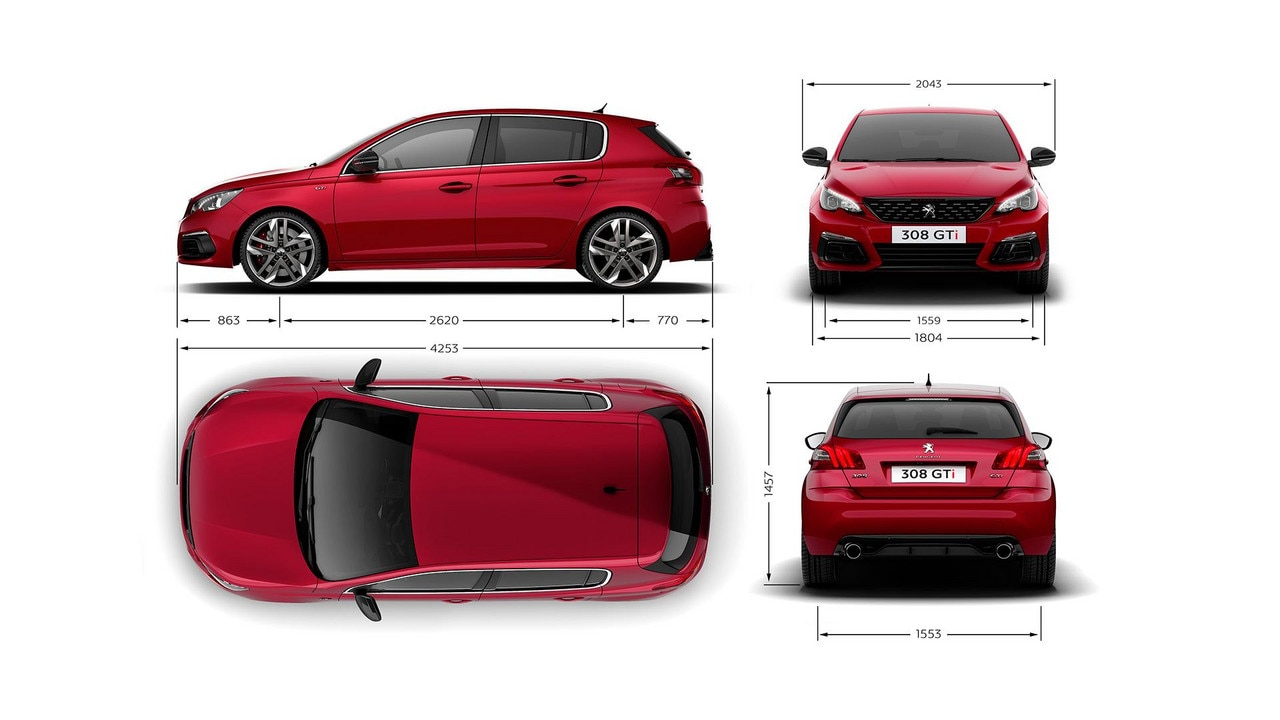Peugeot Gti Exterior Dimensions on Vw Engine Torque Specs
