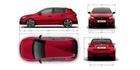 PEUGEOT 308 GTi by PEUGEOT Sport exterior dimensions