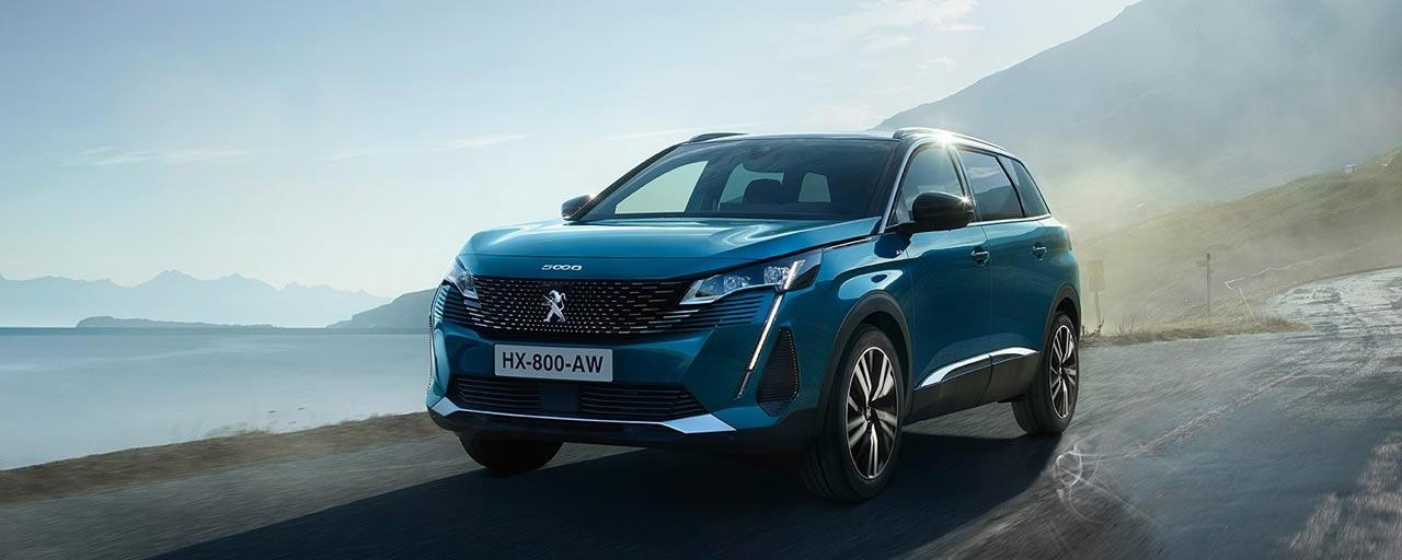 New Large 7-Seat PEUGEOT 5008 SUV