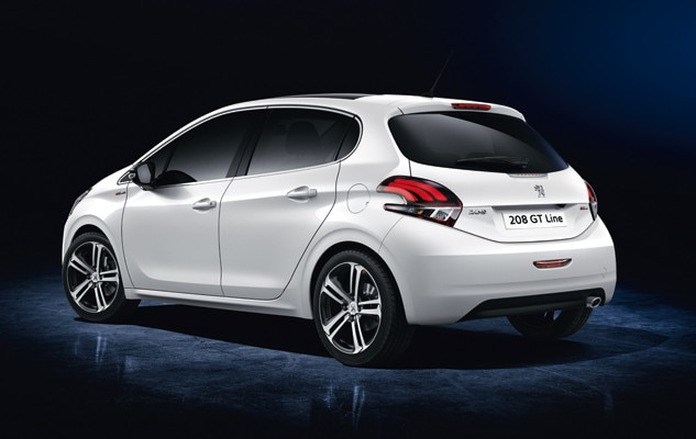 Peugeot 208 New Car Showroom Gt Line Test Drive Today