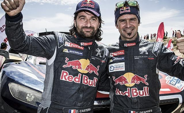 Dakar 2017 Adventurers – Despres and Castera take 3rd place in the classification