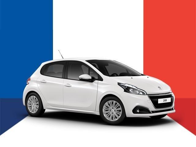 Happy Bastille Day - PEUGEOT 208 Driveaway Deals