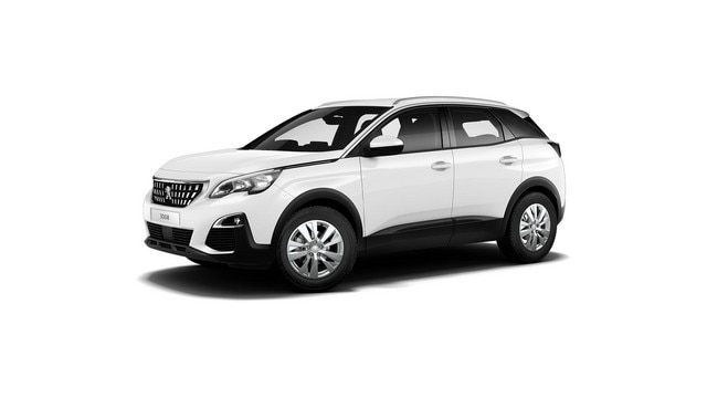 PEUGEOT 3008 SUV Active white front