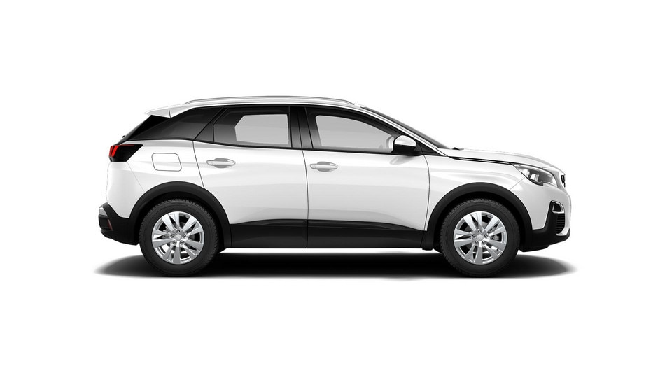PEUGEOT 3008 SUV Active white side