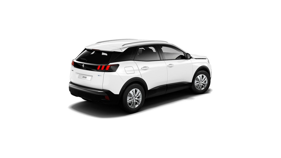 PEUGEOT 3008 SUV Active white rear
