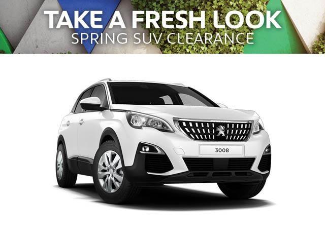 Take a Fresh Look - PEUGEOT 3008 SUV