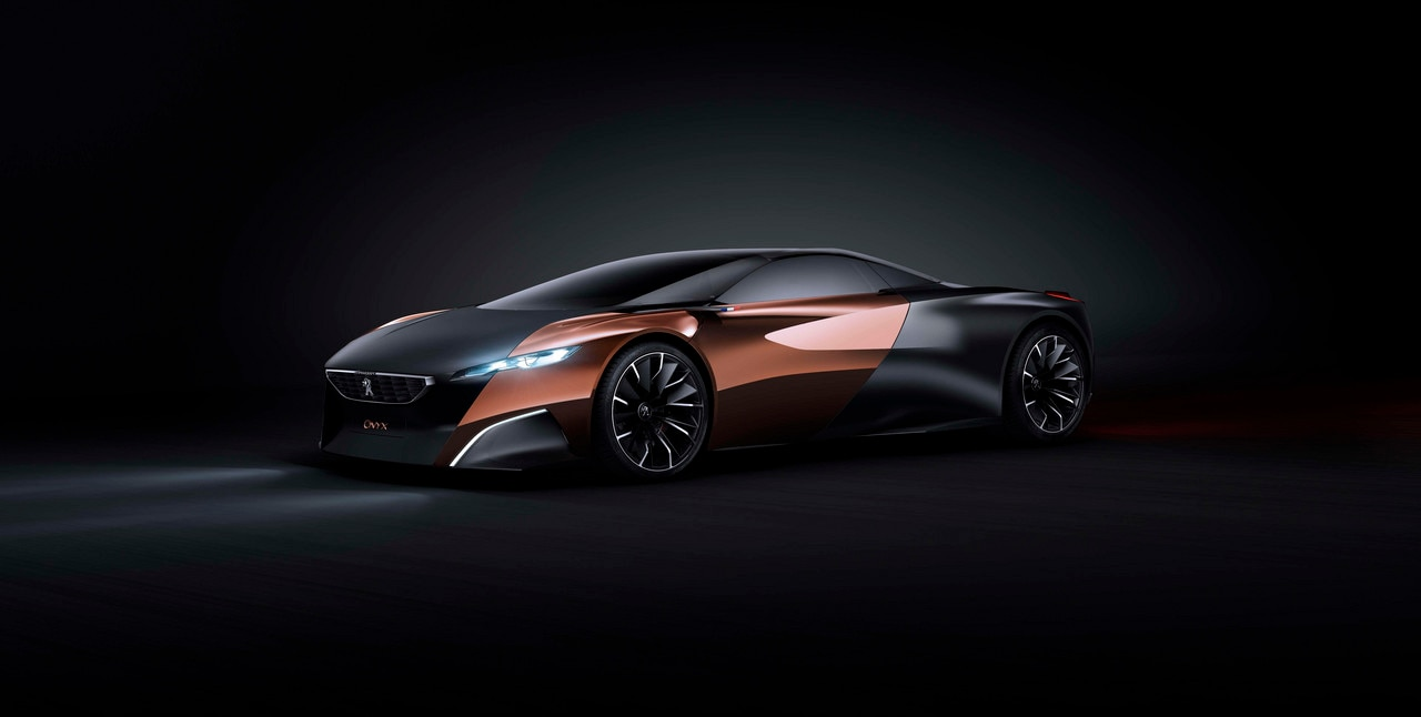Peugeot Onyx Concept Car Future Car Technology