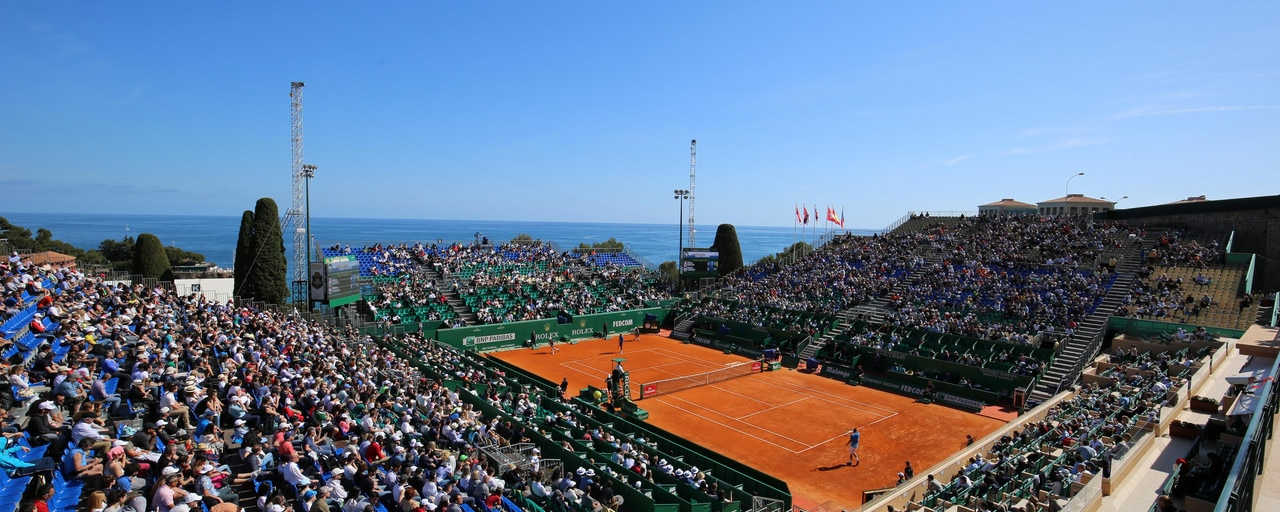 ATP World Tour - Panoramic view of the spectators and the horizon