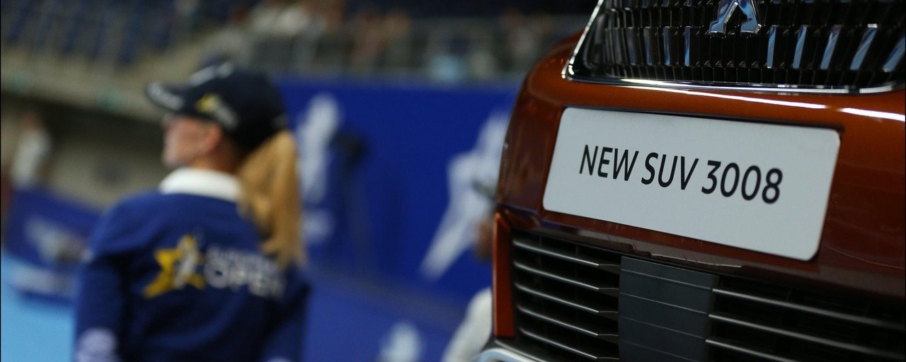 ATP World Tour - The new SUV 3008 during the tournament