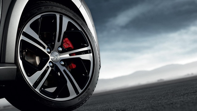 PEUGEOT 208 GTi alloy wheels