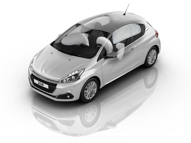 PEUGEOT 208 airbags