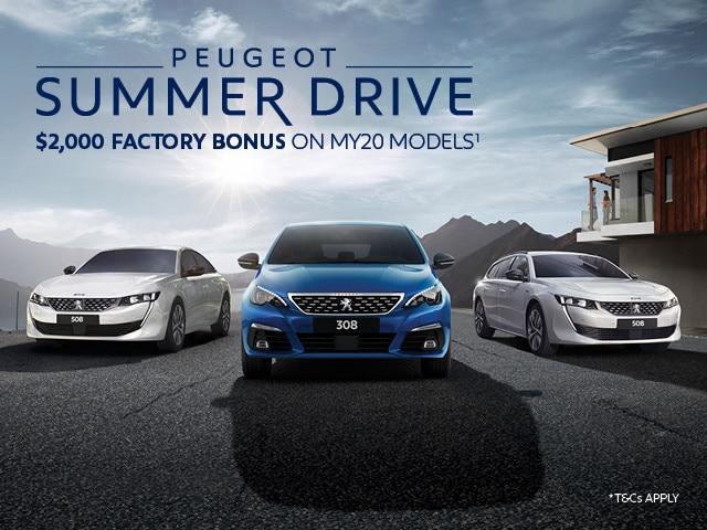 Summer drive offer