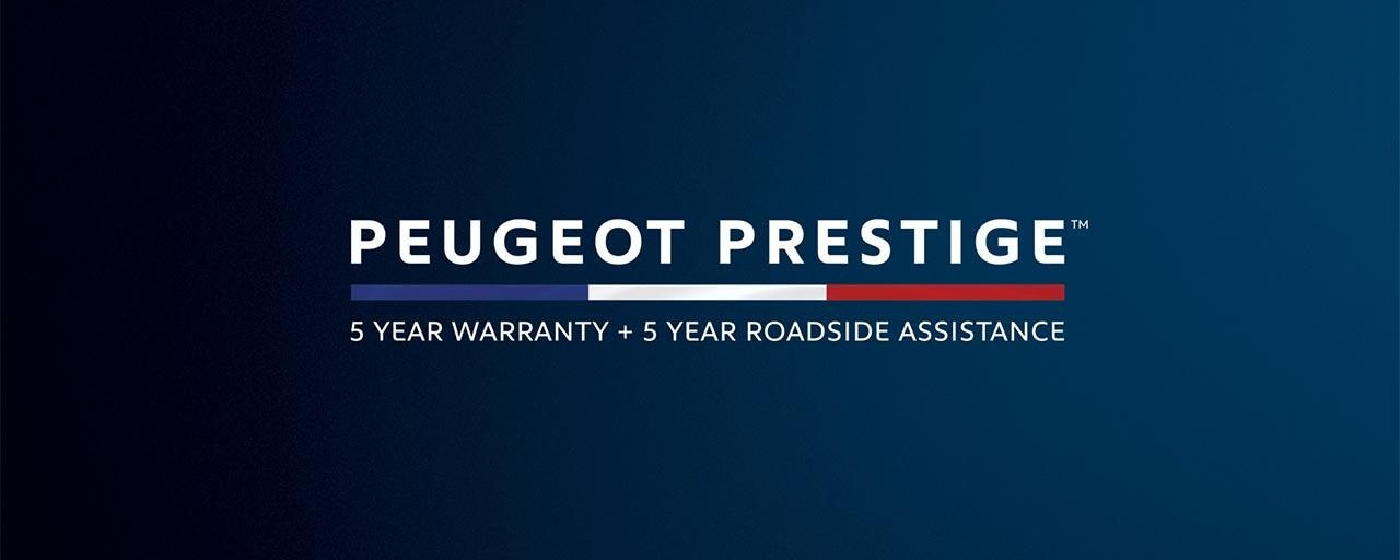 PEUGEOT 308 5 year warranty