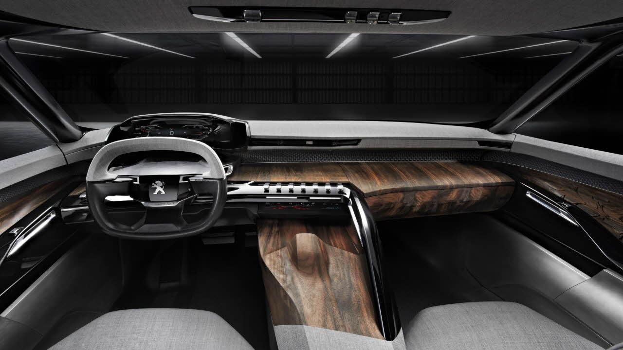PEUGEOT Exalt Concept Car   Interior Comfort