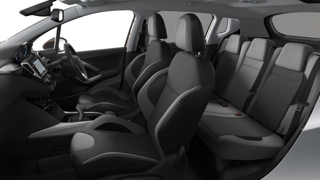 PEUGEOT 2008 SUV space and convenience