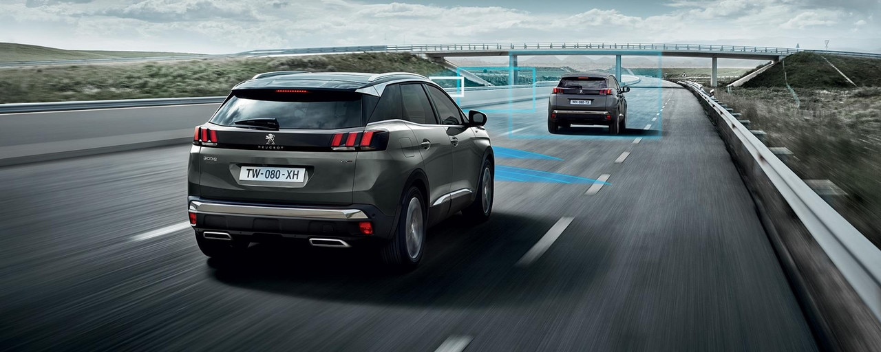 PEUGEOT 3008 SUV GT advanced driver assist technology