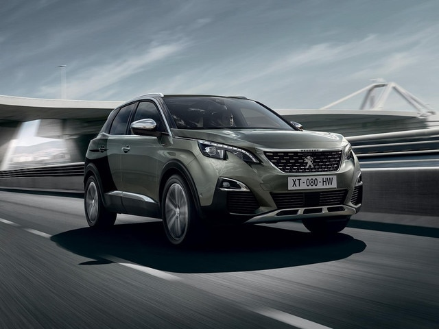 PEUGEOT 3008 SUV GT front style with Coupe Franche