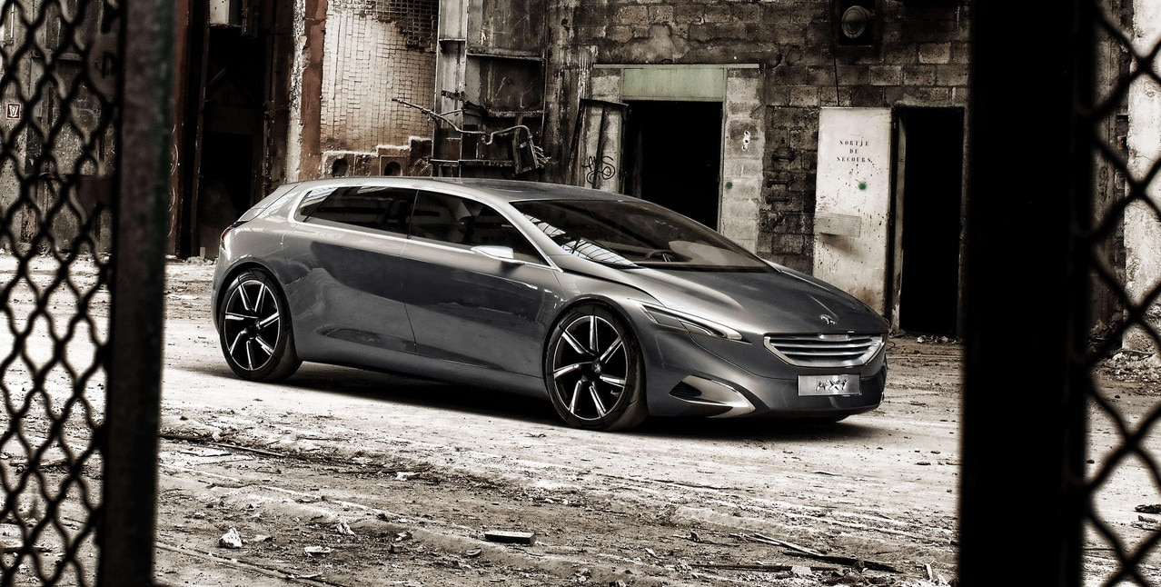 Peugeot HX1 - Discover the HX1 Concept car