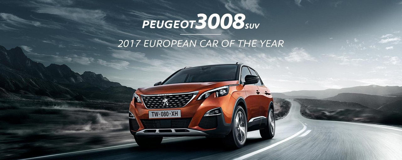PEUGEOT 3008 SUV 2017 European Car of the Year