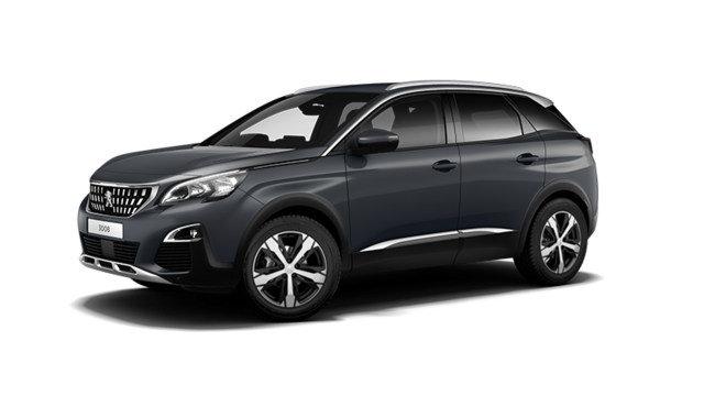 PEUGEOT 3008 SUV Allure Hurricane Grey with Grip Control