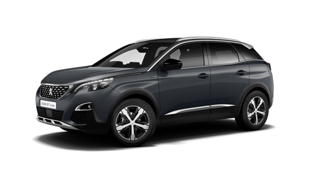 PEUGEOT 3008 SUV GT Line Hurricane Grey with Grip Control