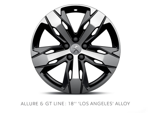 PEUGEOT 3008 SUV 18-inch Los Angeles alloy wheel