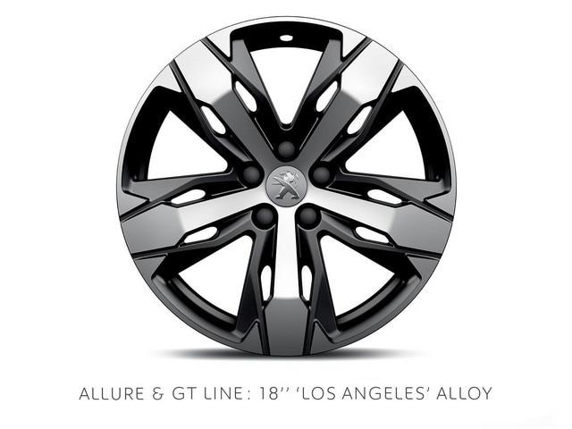 PEUGEOT 3008 SUV 18-inch Los Angeles alloy wheel