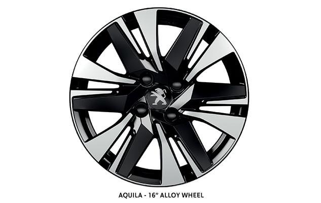 PEUGEOT 2008 SUV Allure 16-inch Aquila alloy wheel