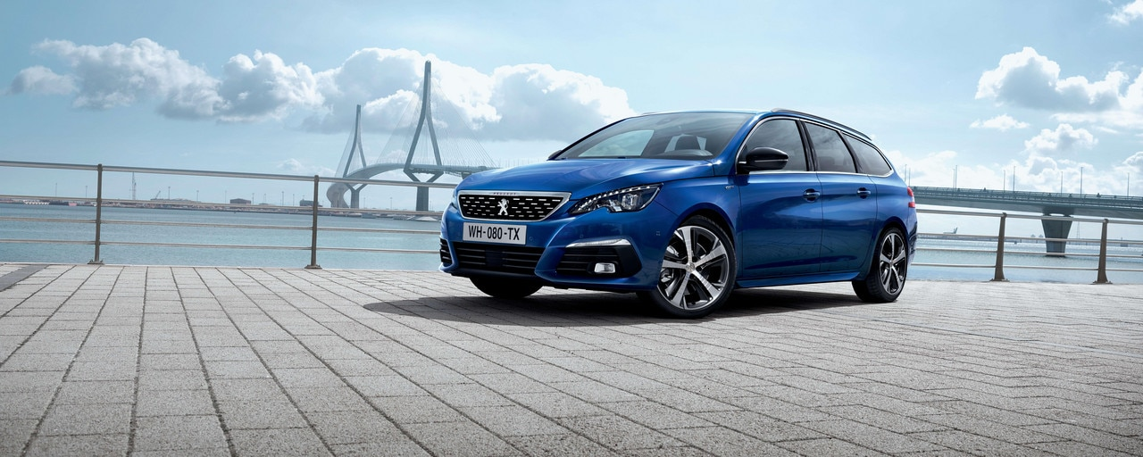 New PEUGEOT 308 SW GT – New front – Full LED lights