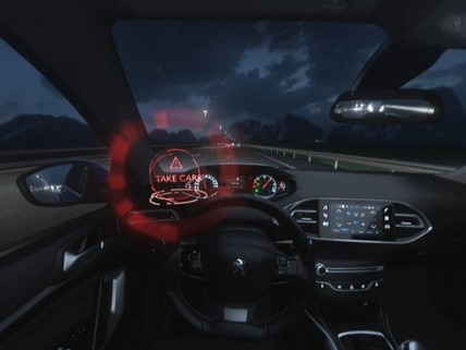 Peugeot 308 - VR : découvrez le Driver Attention Alert en réalité virtuelle