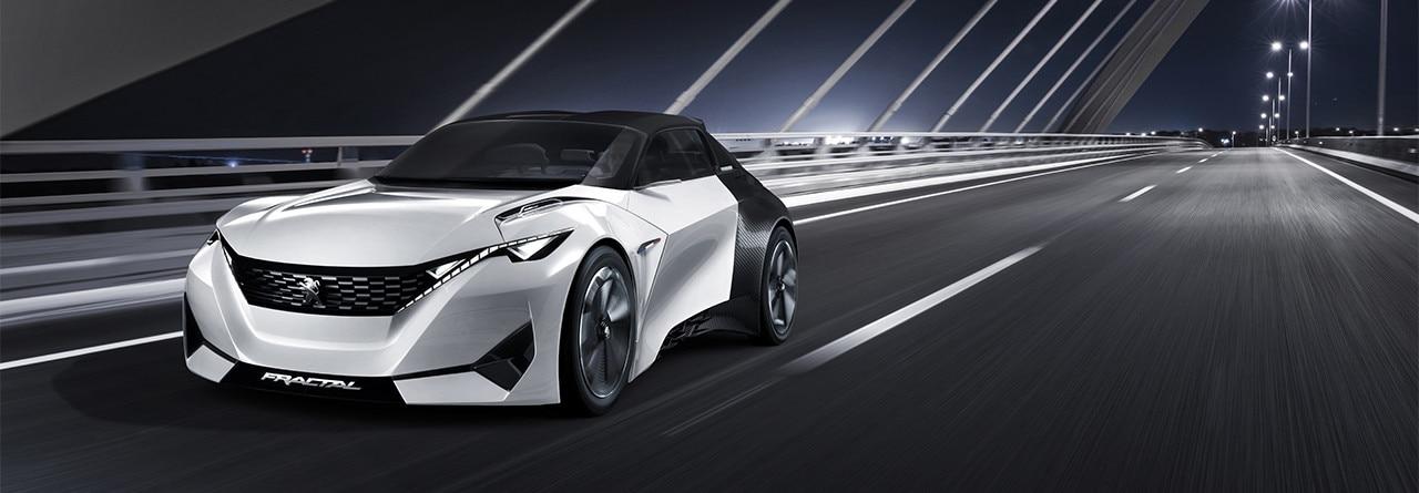 Peugeot Fractal Concept Car Future Car Technology