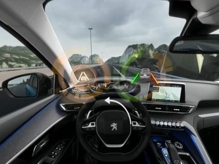 Peugeot SUV 5008 - VR : découvrez l'Active Lane Departure Warning en réalité virtuelle
