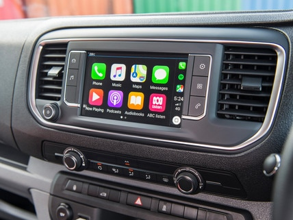 Peugeot Expert Apple Carplay