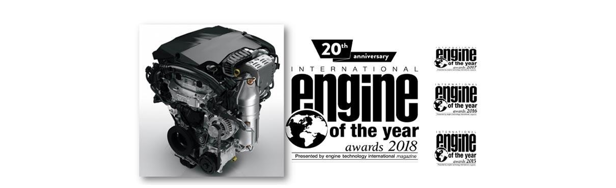 PEUGEOT Wins International Engine of the Year 2018 Award